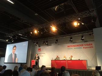 Florian Pronold verteidigte seine Strategie - Foto: SPD