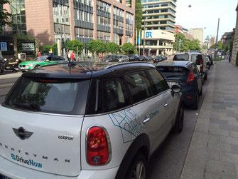 CarSharing in München: Bereits seit längerem Realität. Foto: SPD