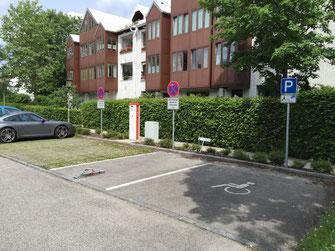 In Unterhaching bereits Realität: E-Tankstellen und Carsharing Foto: SPD