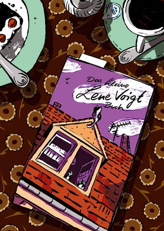 """""""Das kleine Lene Voigt Buch"""". illustriert von Phillip Janta"""