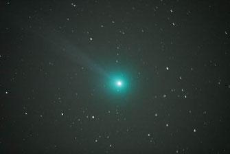 Komet Lovejoy Q2 vom 19.01.2015 21.35 UT - Foto: Manfred Schneider, Sternwarte Neumarkt