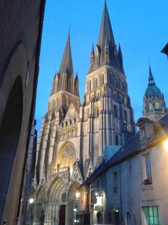 Façade de la Cathédrale de Bayeux