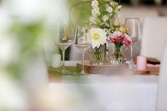 Hochzeitstisch Deko - BOHO
