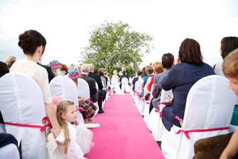 Heiraten im Freien