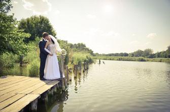 Schönes Wetter zur Hochzeit