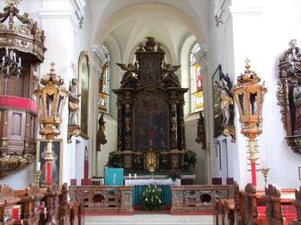 Trauung in der Kirche Arstetten