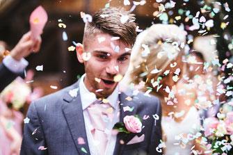 Hochzeitsplanung mit Hilfe