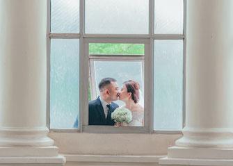 Die Heirat zweier Brautleute