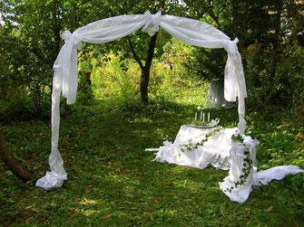 Dekoidee Hochzeit