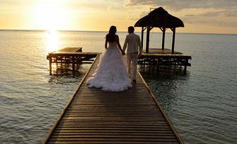 Strandhochzeit Mauritius