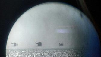 Notlandung eines Sportflugzeugs mitten im Wattenmeer