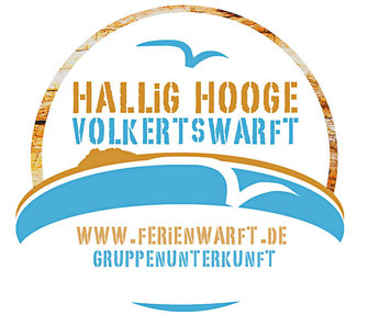 Das neue Logo des Ferienhaus Volkertswarft - Die Herberge im Meer