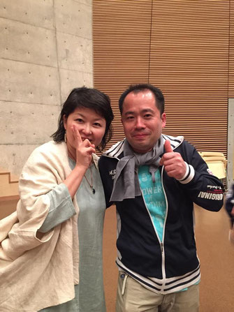Amaranaさんとツーショット(プレイショップ2015にて)