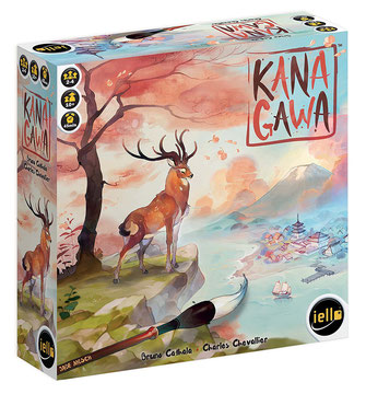 Brettspiel Rezension zu Kanagawa