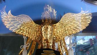 鳳凰さまは「平和と繁栄」の象徴