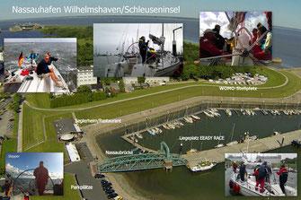 Bild: R.Damm Wilhelmshaven Nassauhafen