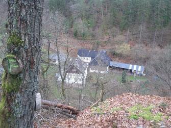 Felsenweg Zilshausen Dünnbachtal Hunsrück