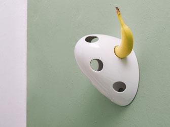 Bananenhalter Porzellan