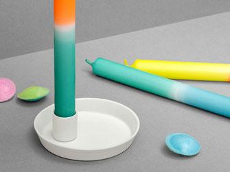 feinesweißes Katy Jung Berlin Porzellan Kerzenhalter