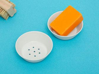 Seifenschale Porzellan kleine Seifen
