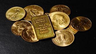 Goldmünzen gibt es seit Urzeiten