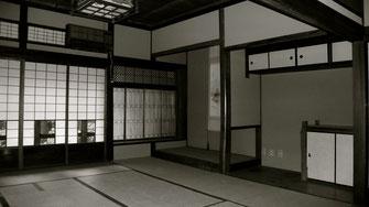岡山にあった元東京都知事故安井誠一郎氏の生家 津島公館 (平成20年老朽化により解体された)