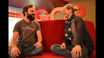 Mathieu Cloutier und Wibke Roth im GOP Essen (Copyright: GOP/Sabine Herget)