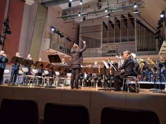 brass band wbi beim Blechbläsertag Schleswig Holstein in lübeck