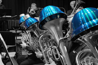 brass band wbi beim neujahrskonzert 2018 in bad bramstedt