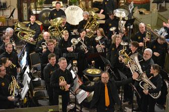 brass brass band wbi beim neujahrskonzert 2018 in rellingen