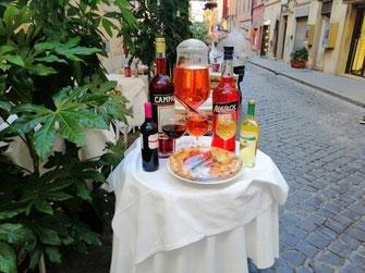 Апероль в Риме, фото