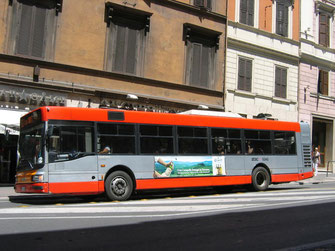 Общественный транспорт в Риме фото