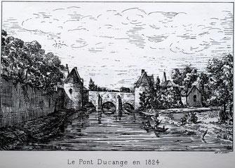 Dessin de L. Duthoit (1824)