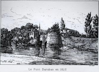Dessin de L. Duthoit (1825)