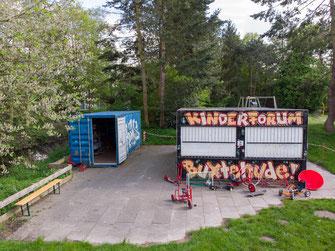 Auch das Kinderforum wird für den Sporthallen-Neubau umziehen - der Interimsstandort für die Bauzeit ist noch nicht gefunden. Foto: SJR
