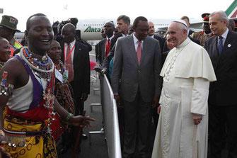 写真はケニアの新聞「Daily Nation」より