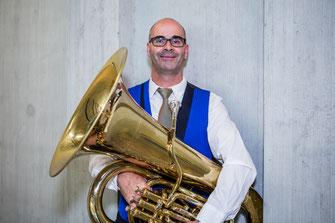Stefan Bieri - Es-Bass - Brass Band MG Oberrüti
