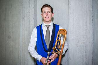 Flurin Casanova - 2. Posaune - Brass Band MG Oberrüti