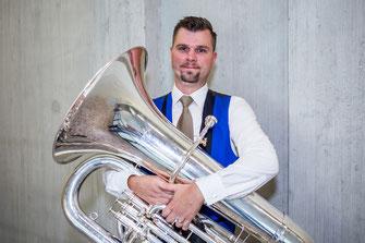 Roland Meier - B-Bass - Brass Band MG Oberrüti