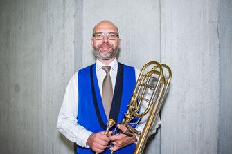 Patrick Steiner - Bass Posaune - Brass Band MG Oberrüti