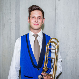 Curdin Casanova - 1. Posaune - Brass Band MG Oberrüti