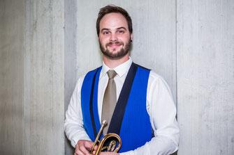 Jules Scheuber - 3. Cornet - Brass Band MG Oberrüti
