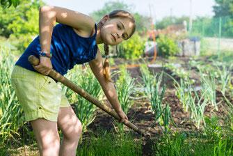 Gärtnern als Lebensschule für Kinder