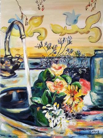 peinture à l'huile, Claire ALLARD