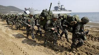 戦争挑発として強行されてきた米韓合同軍事演習