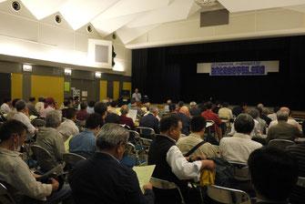 安全無視の公共交通合理化との対決を確認した集会