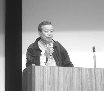 尾澤氏の韓国サンケン労組の解雇撤回闘争と韓国労働運動の講演
