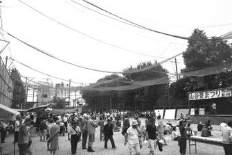反戦・反失業の闘いの前進にむけて開催された山谷夏祭り