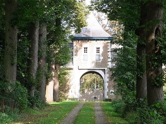 Kasteel Wolfrath: Das Eingangstor