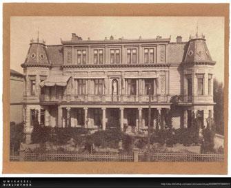 Terrasse 16 - Foto: Universitätsbibliothek Kassel - Landesibliothek und Murhardsche Bibliothek der Stadt Kassel, Sign. 35 HF C557